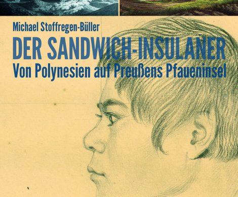 """Rezension/Buchbesprechung """"Der Sandwich-Insulaner"""" von Michael Stoffregen-Büller, spannend und mit großer Leichtigkeit erzählt, top!"""