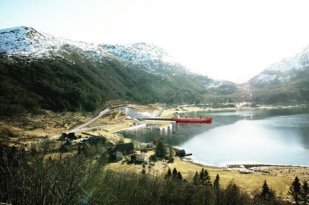 Norwegen wird den Stad Skipstunnel bauen: Für den Baustart Ende 2021 wurden rund 330 Millionen Euro Finanzmittel freigegeben.