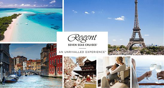 Regent Seven Seas Cruises präsentiert Romantik auf sieben Luxusreisen mit kostenfreien Landausflügen und Erlebnissen an Bord