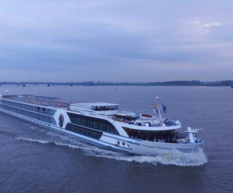 Flussreiseveranstalter Viva Cruises wird seine Flotte um drei Schiffe erweitern: die Treasures, die Inspire sowie die Robert Burns von Scylla