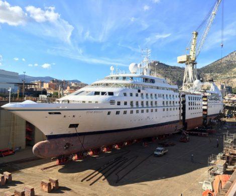 Die US-Reeederei Windstar Cruises lässt drei Boutique-Schiffe mit einem neuen Mittelstück verlängern, eine Kapazitätszunahme von 47 Prozent.