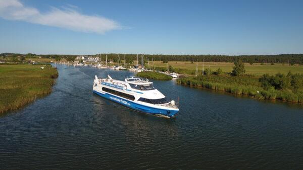 Der erste kurabgabefinanzierte Schiffsverkehr Deutschlands wird mit dem Restart des Tourismus auf Rügen an den Start gehen