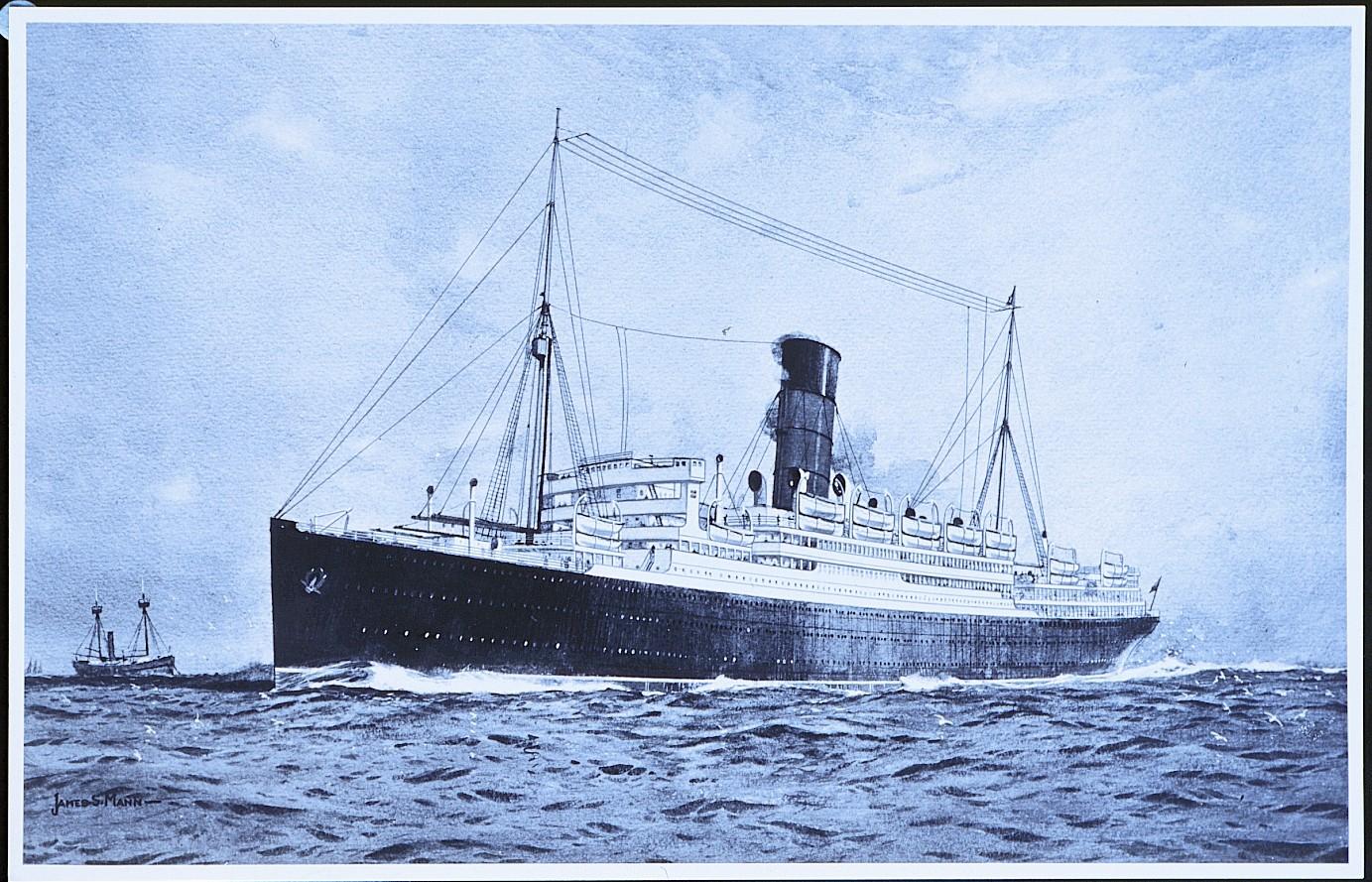"""Die Traditionsreederei Cunard, die als """"Erfinder"""" der Weltreisen mit einem Kreuzfahrtschiff gilt, feiert Jubiläum: 100 Jahre Weltreisen."""