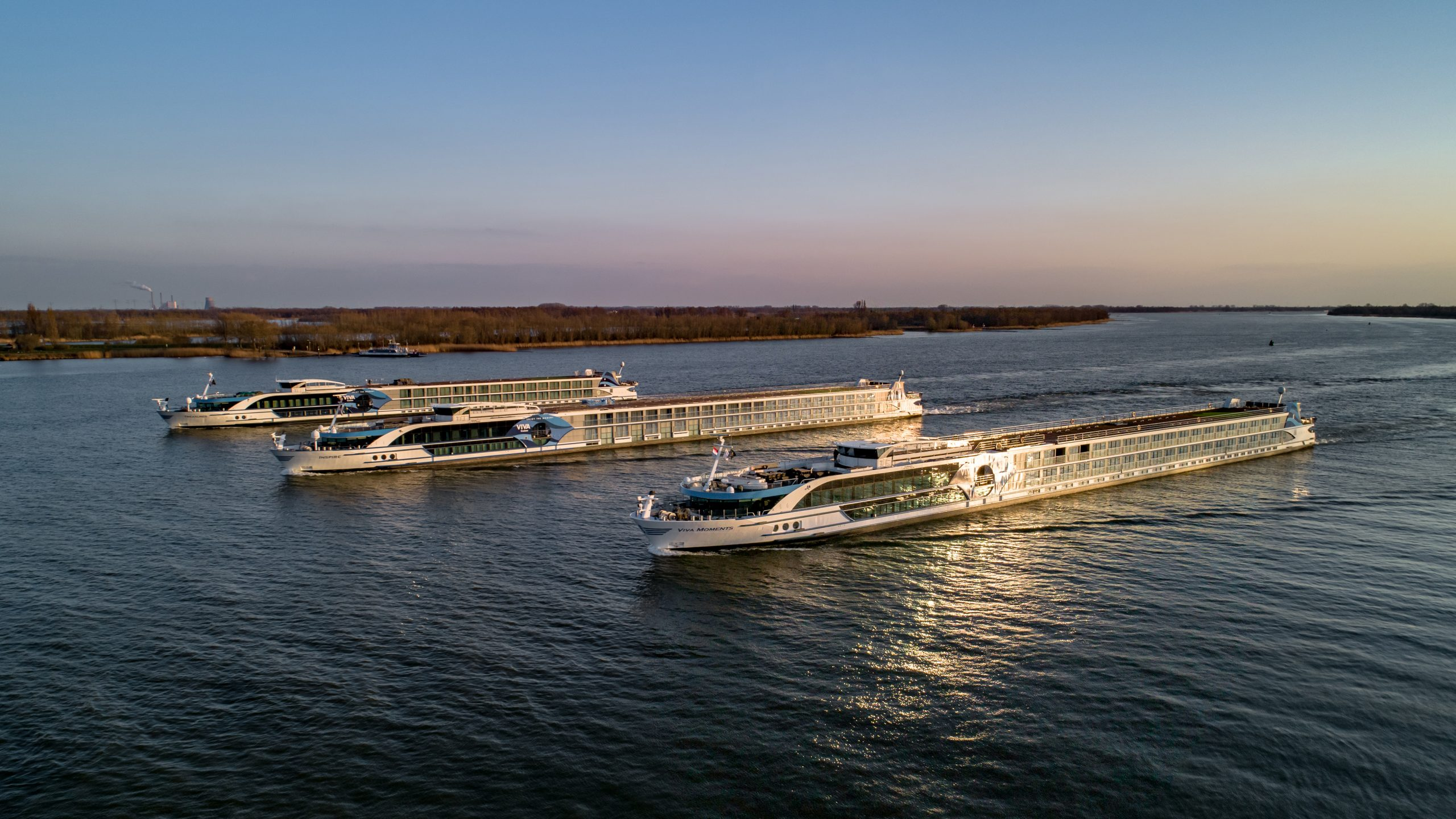 VIVA Cruises kommt mit zwei Neubauten und zwei weiteren Schiffe, die Flotte besteht in 2022 dann aus insgesamt sieben Schiffen