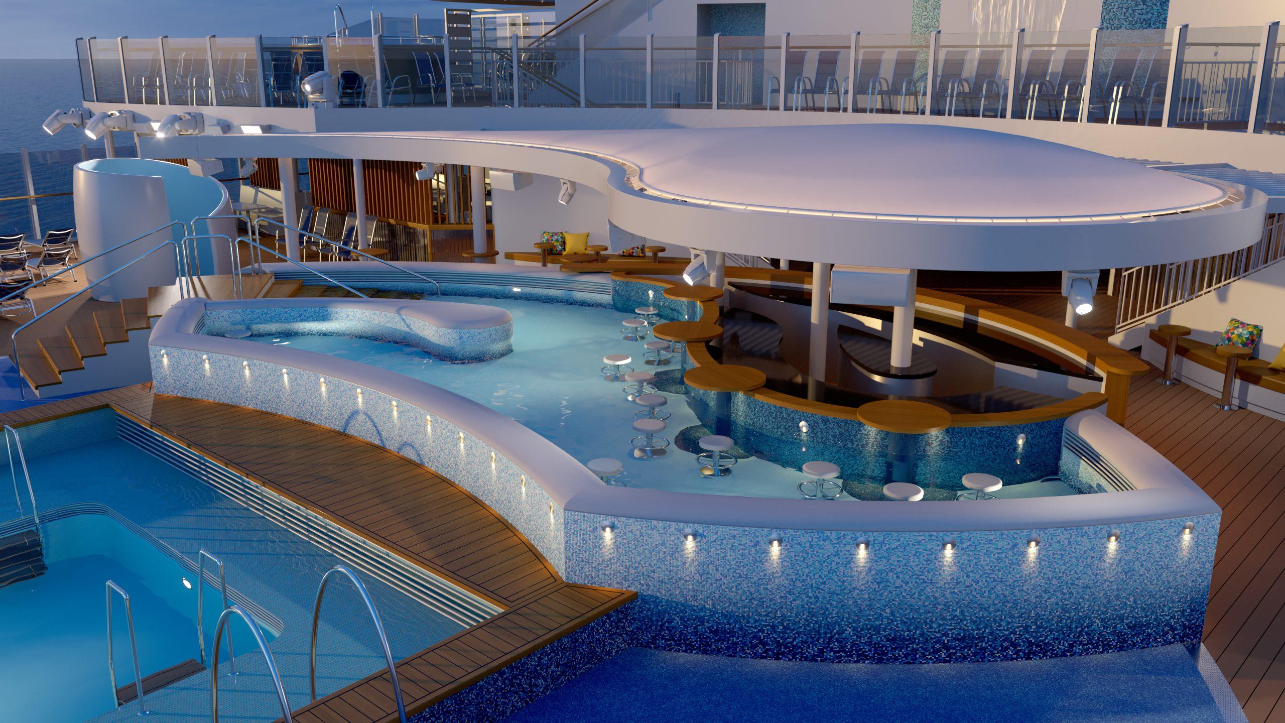 Für P&O Cruises entsteht mit der Arvia auf der Papenburger Meyer-Werft aktuell das zweite mit Flüssigerdgas (LNG) betriebene Schiff.
