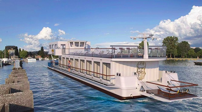 Die Schweiz hat mit der Attila jetzt ein Kreuzfahrtschiff auf den Seen: Am 23. Mai startet das Schiff in der 3-Seen-Region.