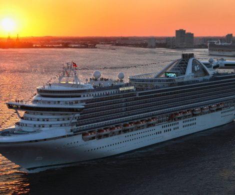 Princess Cruises startet ab November 2022 mit gleich sechs Schiffen fast ausschließlich von Fort Lauderdale aus in Richtung Karibik.