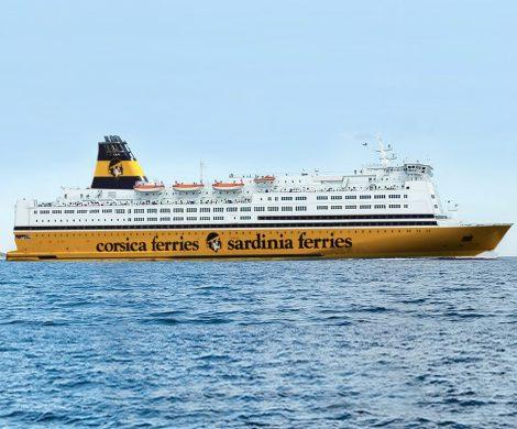 """Mit dem Kauf der MS """"Mega Regina"""" erhält Corsica Sardina Ferries das größte und zugleich umweltfreundlichste Fährschiff der Flotte"""