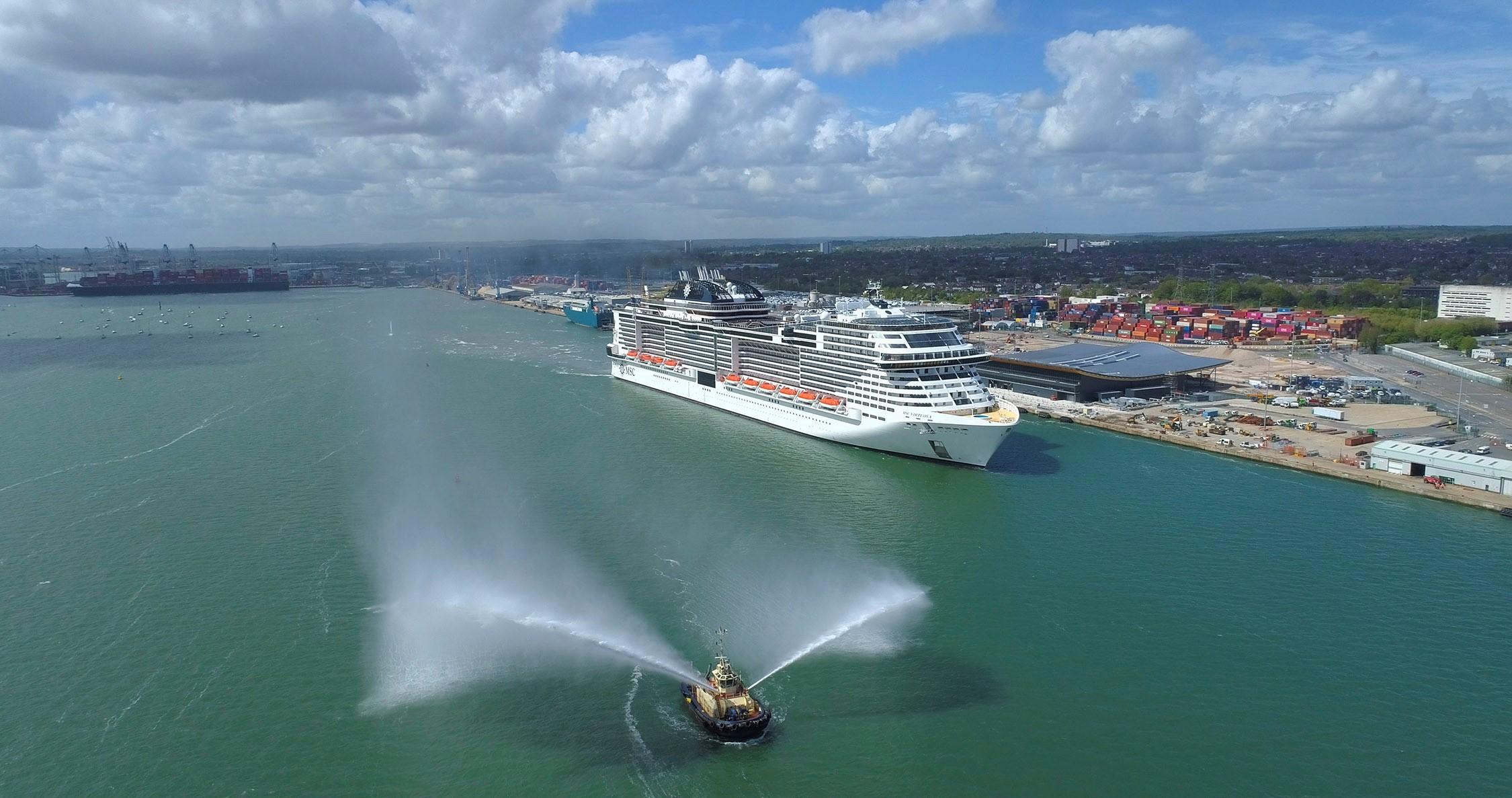 Die MSC Virtuosa, das neueste Flaggschiff von MSC Cruises, wird am 20. Mai zu ihrer Jungfernfahrt rund um die Britischen Inseln aufbrechen.