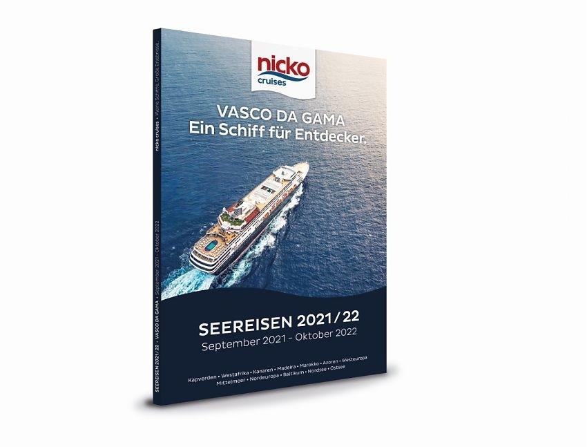 Ab sofort ist der neue Katalog von nicko cruises für VASCO DA GAMA erhältlich, mit Reisen von September 2021 bis Oktober 2022.