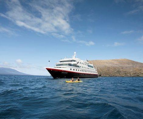 Ab Januar 2022 erweitert Hurtigruten Expeditions das Reiseprogramm um Galapagos und ein neues einzigartiges Natur-Abenteuer an Bord der komplett modernisierten MS Santa Cruz II.
