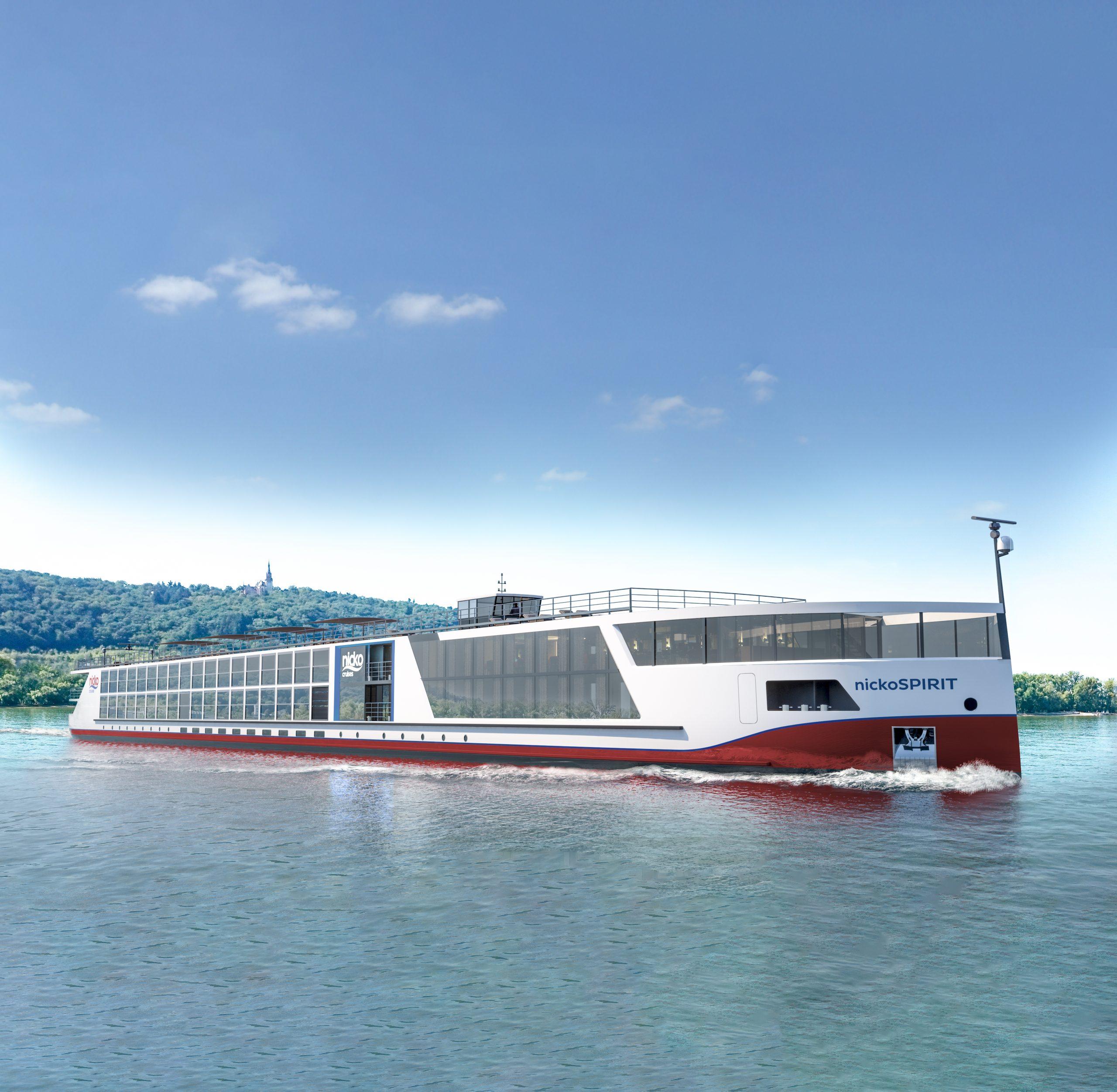 Am 9. Juni ist bei nicko cruises die Jungfernfahrt der nickoSPIRIT mit einer neuntägigen Reise entlang von Main, Main-Donau-Kanal und Donau.
