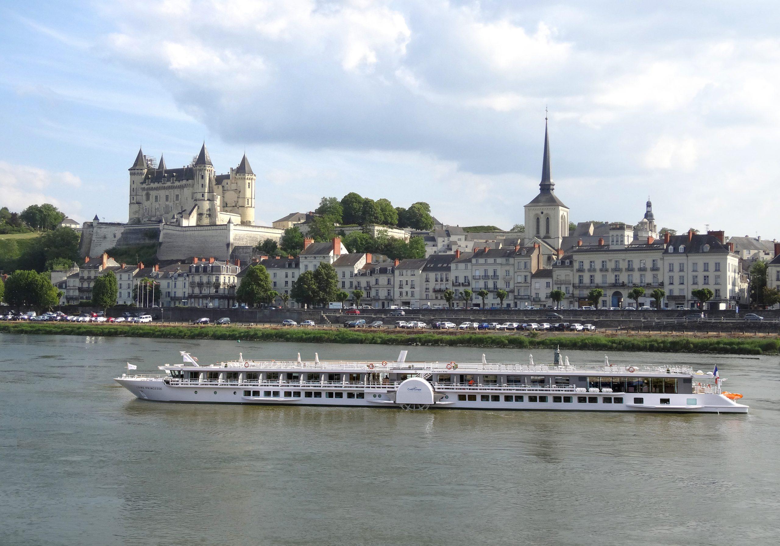 Das Schaufelradschiff Loire Princess von Croisi Europe nimmt seinen Betrieb wieder auf und fährt ab Juli von Nates aus auf der Loire