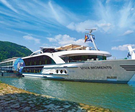 Viva Cruises fährt ab sofort wieder auf Donau, Rhône und Seine. Den langersehnten Saisonstart auf der Donau machte das neueste Mitglied der VIVA-Flotte, die VIVA MOMENTS,